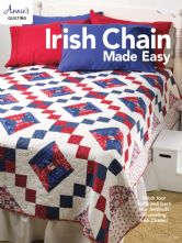 Irish Chain Quilts Made Easy Paperback Quilting Book